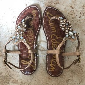 Sam Edelman beaded sandals